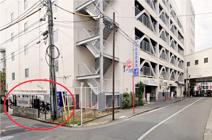 小田急駐輪場